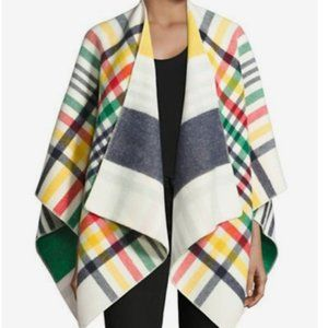New Hudson's Bay x Johnstons of Elgin Wool Poncho